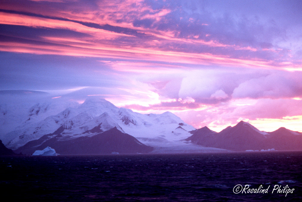 Sunrise on Livingston Island