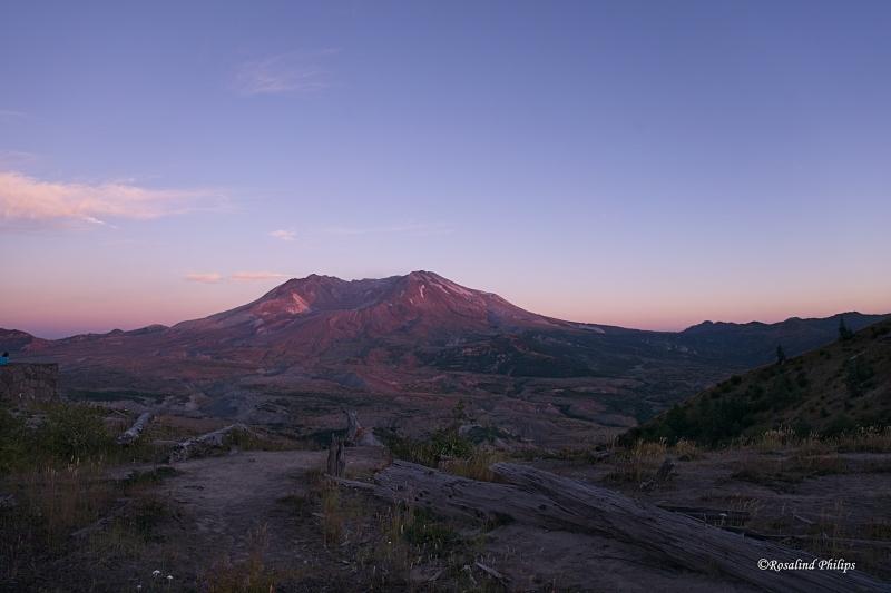 Mt. St. Helens - Sunset
